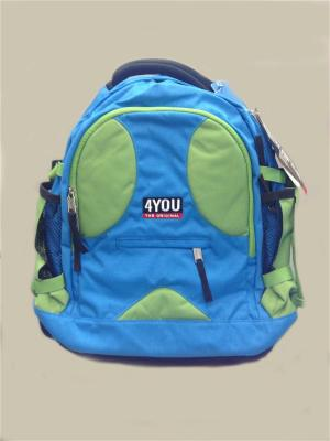 Рюкзак 4YOU COMPACT ЗЕЛЕНО-ГОЛУБОЙ. Цвет: зеленый, голубой