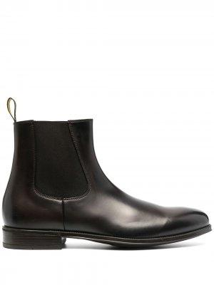 Doucals ботинки челси с миндалевидным носком Doucal's. Цвет: коричневый