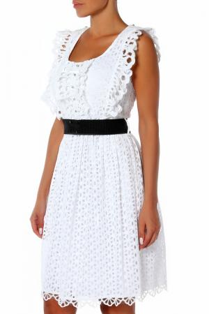 Платье Maria Grazia Severi. Цвет: белый