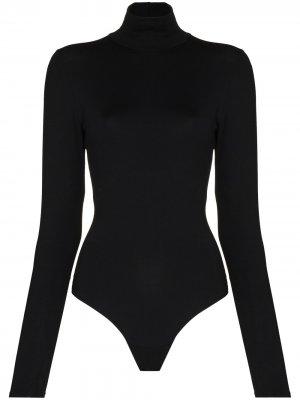 Боди Suit Yourself с длинными рукавами Spanx. Цвет: черный