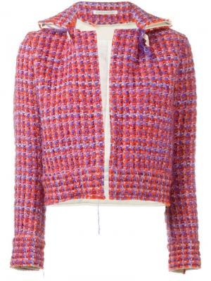 Куртка из букле Yohji Yamamoto Pre-Owned. Цвет: желтый