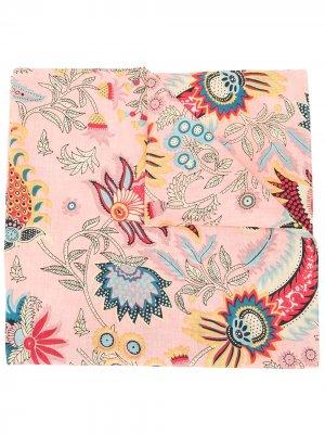 Платок Klyde Tapestry с цветочным принтом Rachel Comey. Цвет: розовый