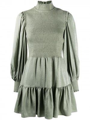 Платье мини Elvira Alice+Olivia. Цвет: зеленый