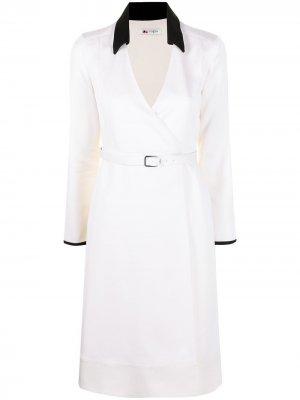 Платье с поясом Ports 1961. Цвет: нейтральные цвета