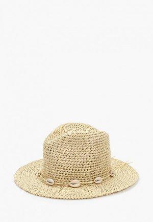 Шляпа Topshop. Цвет: бежевый