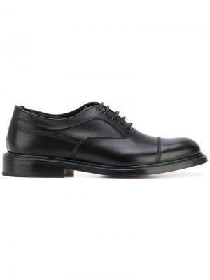 Ботинки-оксфорды Dunlop Trickers. Цвет: черный