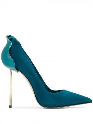 Туфли-лодочки Petalo Le Silla. Цвет: синий