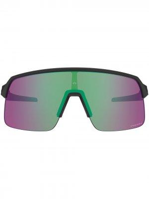 Солнцезащитные очки Sutro Lite в массивной оправе Oakley. Цвет: синий