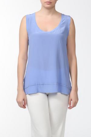Блуза Alter Ego. Цвет: голубой