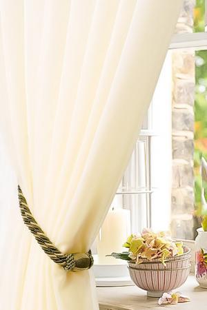 Тюль, 400х260 Garden. Цвет: молочный