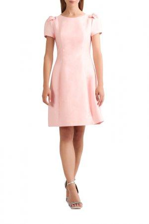 Сатиновое платье Apart. Цвет: бордовый