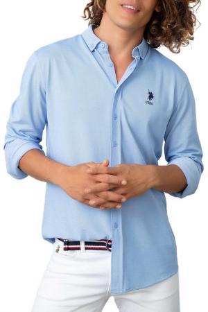 Рубашка U.S. Polo Assn.. Цвет: vr036 голубой