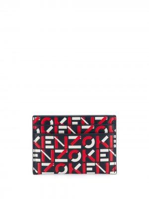 Картхолдер с логотипом Kenzo. Цвет: красный