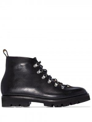 Ботинки хайкеры Bobby Grenson. Цвет: черный