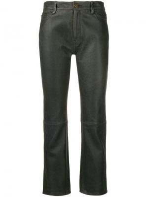 Укороченные брюки Daily Mih Jeans. Цвет: черный