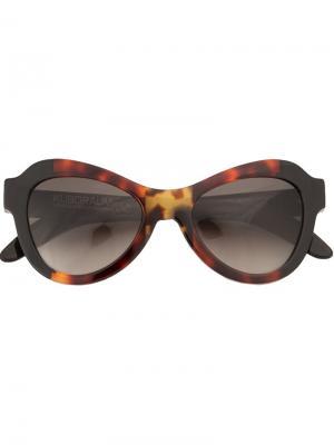 Солнцезащитные очки Kuboraum. Цвет: разноцветный
