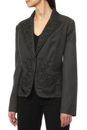 Пиджак Infinitif. Цвет: серый