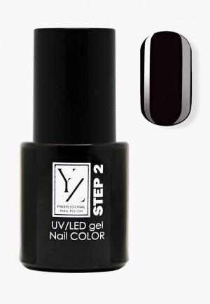 Гель-лак для ногтей Yllozure. Цвет: черный