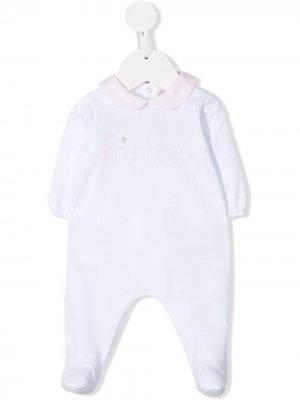 Пижама с принтом Princess La Stupenderia. Цвет: белый