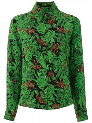 Рубашка Floresta Eva. Цвет: зеленый