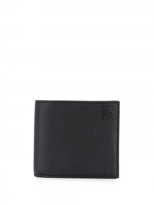 Складной кошелек LOEWE. Цвет: черный