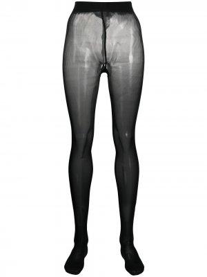 Колготки с декором Skull Philipp Plein. Цвет: черный