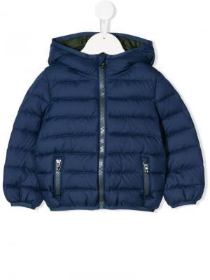 Zip-front padded jacket Colmar Kids. Цвет: синий