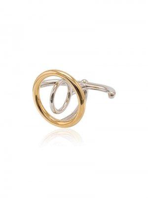 Кольцо Saturn Charlotte Chesnais. Цвет: золотистый