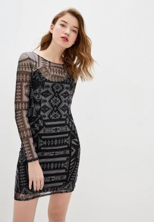 Платье Desigual. Цвет: серый