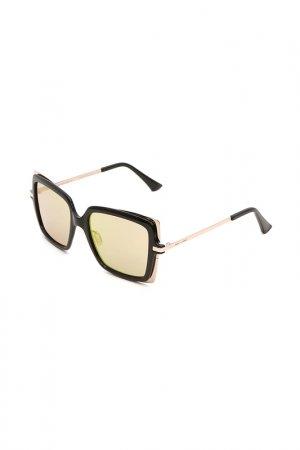 Очки солнцезащитные с линзами ITALIA INDEPENDENT. Цвет: 009 049 черный