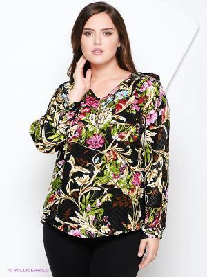 Блузка AMAZONE. Цвет: черный