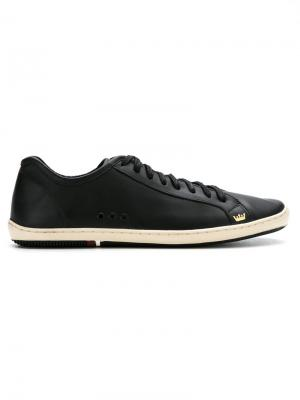 Leather sneakers Osklen. Цвет: черный
