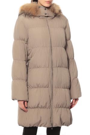 Куртка Loft. Цвет: бежевый