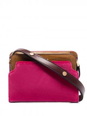 Мини-сумка Trunk Reverse Marni. Цвет: розовый