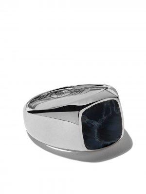 Кольцо-печатка Exotic Stone David Yurman. Цвет: ssbpy