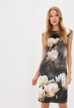Платье Adzhedo. Цвет: хаки