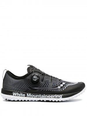 Кроссовки White Mountaineering Saucony. Цвет: черный