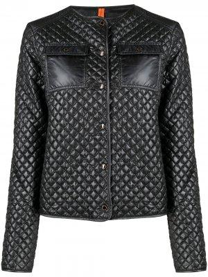 Стеганая куртка Delice Parajumpers. Цвет: серый