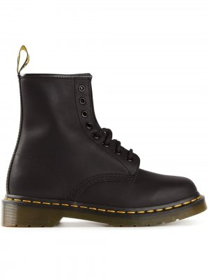 Ботинки на шнуровке 1460 Dr. Martens. Цвет: черный