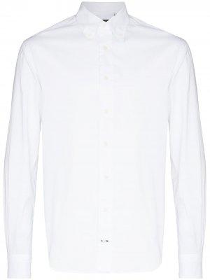 Рубашка Zephyr с длинными рукавами Gitman Vintage. Цвет: белый