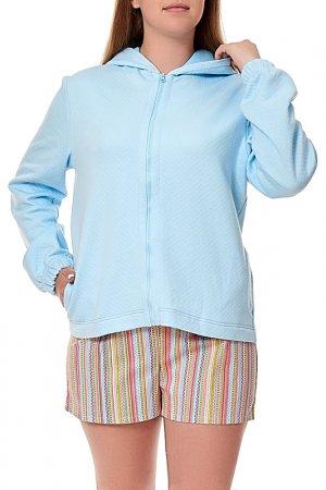 Толстовка MANNON. Цвет: голубой