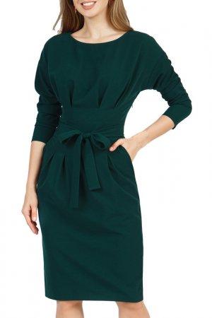 Платье Olivegrey. Цвет: темно-зеленый