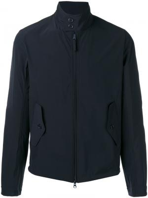 Куртка на молнии Aspesi. Цвет: черный