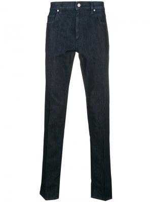 Slim-fit jeans Z Zegna. Цвет: синий