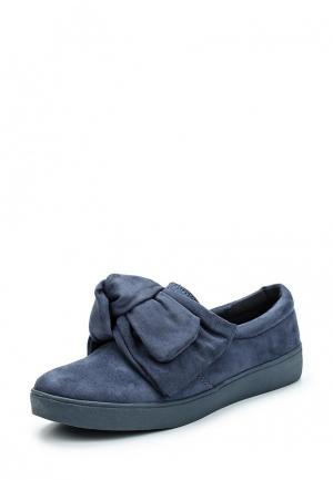 Слипоны Max Shoes. Цвет: синий