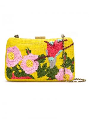 Embroidered clutch Serpui. Цвет: yellow