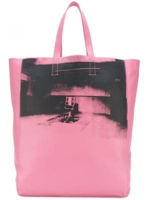 Сумка-тоут Calvin Klein 205W39NYC x Andy Warhol. Цвет: розовый