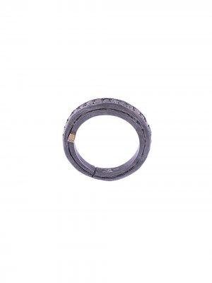 Серебряное кольцо Ester с бриллиантами Rosa Maria. Цвет: серебристый