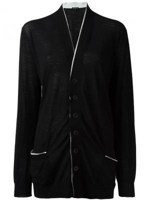 Кардиган с передними карманами Ann Demeulemeester. Цвет: чёрный