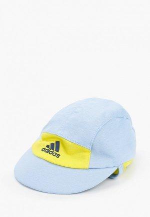 Бейсболка adidas. Цвет: голубой
